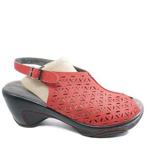 Jambu JBU Adventure Womens Monica Wedge Slingback